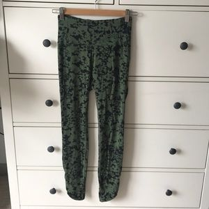 Lululemon floral printed leggings